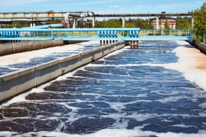 Defoamer for waste water treatment